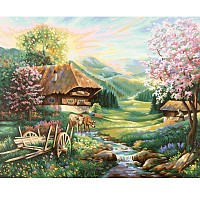 Malen nach Zahlen Schipper Der Frühling 40 x 50 cm