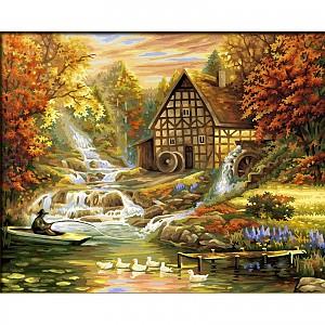 Malen nach Zahlen Schipper Der Herbst 40 x 50 cm