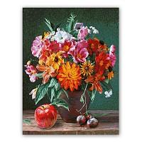 Malen nach Zahlen Herbstimpressionen Schipper 40 x 50 cm Stillleben - Blumen Vase Apfel