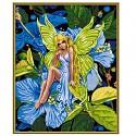 Malen nach Zahlen Schipper 609130647 Anmutige Blumenelfe 40x50