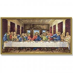 Malen nach Zahlen Schipper 609220441 Das letzte Abendmahl 40x80