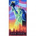Malen nach Zahlen - SCHIPPER - Die Freiheitsstatue 40x80cm - Lady Liberty