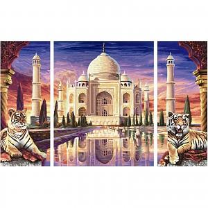 Malen nach Zahlen - SCHIPPER - Taj Mahal-Denkmal 50x80