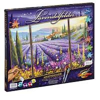Malen nach Zahlen Lavendelfelder Triptychon 50x80 cm Schipper