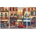 Malen nach Zahlen - Schipper - Paris Nostalgie Triptychon