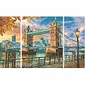 The Tower Bridge in London Schipper 609260752 Malen nach Zahlen Triptychon