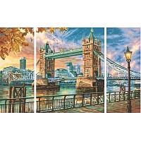 The Tower Bridge in London Schipper 609260752 Malen nach Zahlen Triptychon