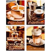 Malen nach Zahlen - Schipper - Kaffeepause Quattro