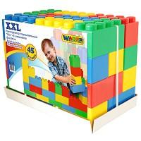 Wader - XXL - Bausteinblocks 45 Teile