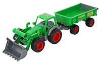 Wader - Traktor mit Anhänger