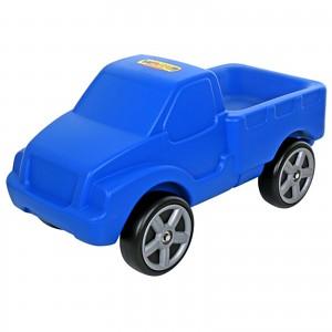 WADER Pick up Truck, blau, Rutscher-Fahrzeug