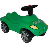 WADER Action Racer Polizei mit Hupe, Rutscher-Fahrzeug