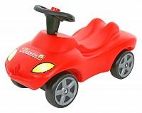 WADER Action Racer Feuerwehr mit Hupe, Rutscher-Fahrzeug