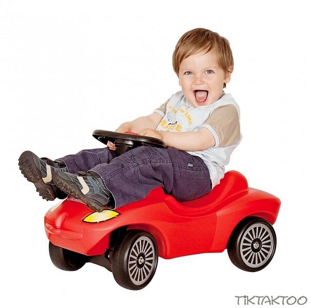 Rutscher Action Racer Feuerwehr mit Hupe Kleinkindspielzeug