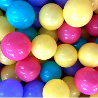 500 Spielbälle ø7cm - bunt