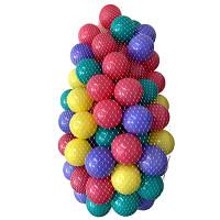 100 Spielbälle ø7cm im Netz - bunt