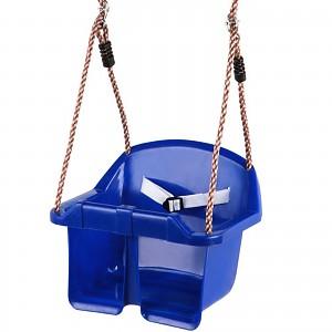 Baby-Schaukelsitz aus Kunststoff, blau