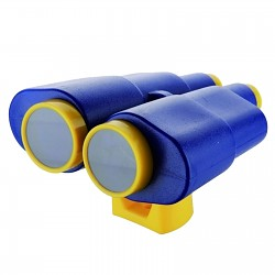Fernglas Fernrohr Blau / gelb
