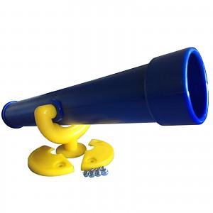 Teleskop-Fernrohr standard blau / gelb