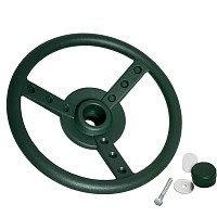 Lenkrad Ø 33 cm grün