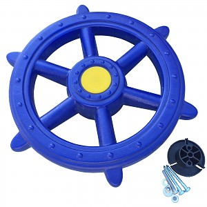 Lenkrad Schiff - Piratenlenkrad  Ø 48 cm blau