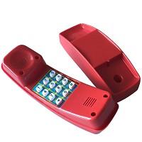 Kindertelefon Kunststoff rot