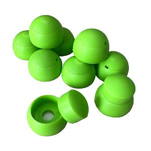 10er Set Abdeckkappen 8-10mm apfelgrün