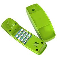Kindertelefon Kunststoff apfelgrün