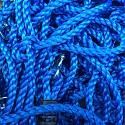 Kletternetz H: 2,00 x B: 1,25 m - blau