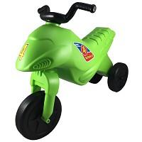 Kinder Motorrad Rutscher Kinderbike Lauflernrad Laufrad grün