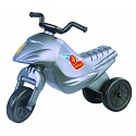 Kinder Motorrad Rutscher Kinderbike Lauflernrad Laufrad silber
