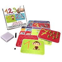 Lernspiel Zahlen Ziffer Wisch-und-Weg Lernset Einschulung Kinder Geschenk Lernen