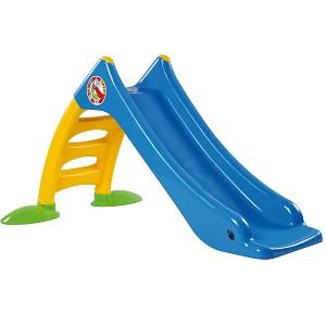 Kinderrutsche Kleinkindrutsche mit Wasseranschluss Wasserrutsche 120 cm blau
