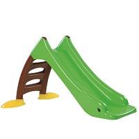 Kinderrutsche Kleinkindrutsche mit Wasseranschluss Wasserrutsche 120 cm grün