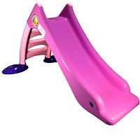 Kinderrutsche Kleinkindrutsche mit Wasseranschluss Wasserrutsche 120 cm rosa