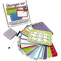 Lernspiel Linienführung Wisch-und-Weg Lernset Einschulung Kinder Geschenk Lernen