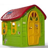 Spielhaus für Kinder Kinderhaus Bunt Gartenhaus Kinderspielhaus