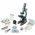 Schülermikroskop 100x – 900x Lernmikroskop, beleuchtet, Zubehör