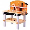 Kinder Werkbank aus Holz mit Werkzeug Holzwerkbank Kinderwerkbank Spielzeug