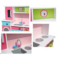 moderne Spielküche mit Waschmaschine