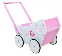 Baby Walker Laufwagen Puppenwagen rosa weiss