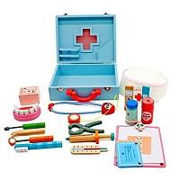 Doktor-Koffer aus Holz Doktorkoffer