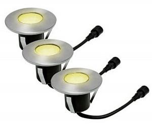 Easy Connect® 3 Einbaustrahler - Medium - Ø 6 cm (9 LEDS) - Warmweiss