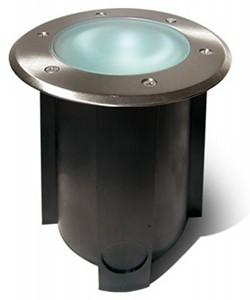 Easy Connect® LED Einbaulicht für Beton, Sand etc. Edelstahl Ø 15cm