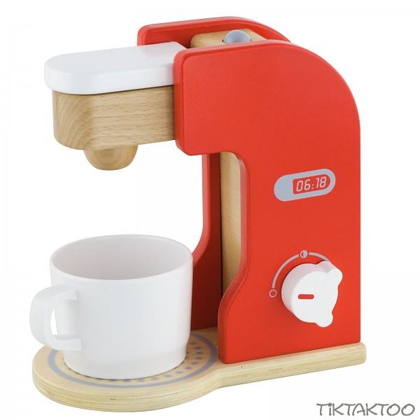 Kaffeemaschine aus Holz  TikTakToo