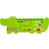 Krokodil Wandspiel Wand-Spieltafel
