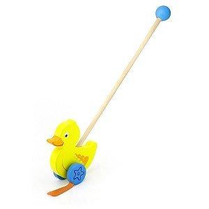 Schiebespielzeug Schiebetier Ente Watscheltier