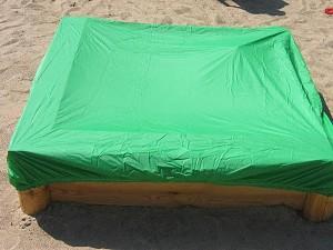 Sandkastenabdeckung 1.10 bis 1.30 m