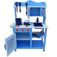 Spielküche blau