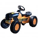 Kinder Trettraktor Kindertraktor Tretauto Traktor Trekker Farmer orange